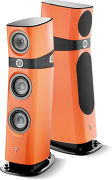 Focal Sopra N°2 Orange électrique (la paire)