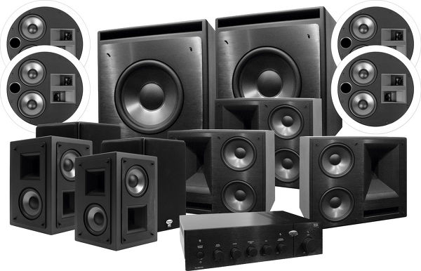klipsch 650 thx ultra 2 atmos system 7 2 4 son vid. Black Bedroom Furniture Sets. Home Design Ideas