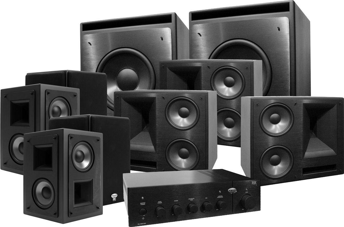 klipsch 650 thx ultra 2 system 7 2 kw 120 son vid. Black Bedroom Furniture Sets. Home Design Ideas