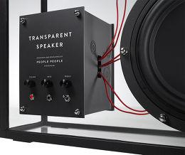 People People Transparent Speaker AirPlay Vue de détail 1