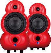 Scandyna MiniPod Bluetooth MK2 Rouge mat (la paire)