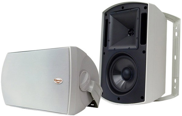 klipsch aw 650 enceintes d 39 ext rieur son vid. Black Bedroom Furniture Sets. Home Design Ideas