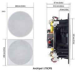 Cabasse Archipel 17 ICP Vue de détail 1