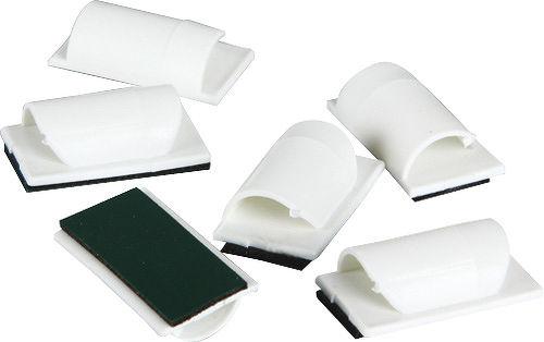 attache c bles blanc d line accessoires de son vid. Black Bedroom Furniture Sets. Home Design Ideas