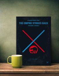 Displate Star Wars 5 - L'Empire Contre Attaque Mise en situation 2