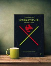 Displate Star Wars 6 - Le Retour du Jedi Mise en situation 1