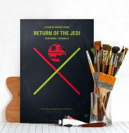 Displate Star Wars 6 - Le Retour du Jedi Mise en situation 2