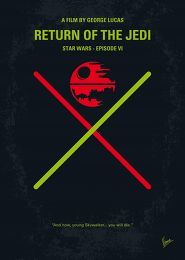 Displate Star Wars 6 - Le Retour du Jedi