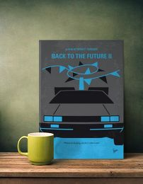 Displate Retour vers le Futur 2 Mise en situation 1