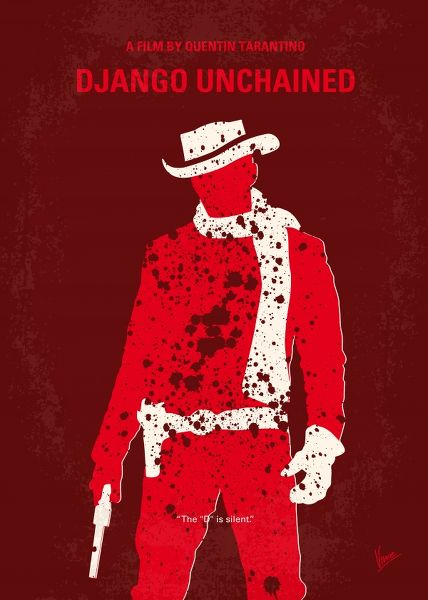 Displate Django Unchained Vue principale