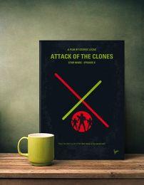 Displate Star Wars 2 - L'Attaque des Clones Mise en situation 1