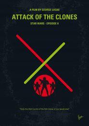 Displate Star Wars 2 - L'Attaque des Clones Vue principale