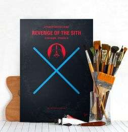 Displate Star Wars 3 - La Revanche des Sith Mise en situation 2