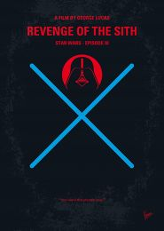 Displate Star Wars 3 - La Revanche des Sith Vue principale