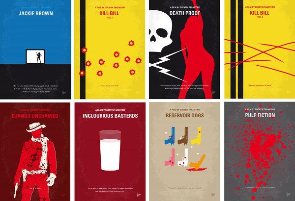 Displate Quentin Tarantino Vue principale