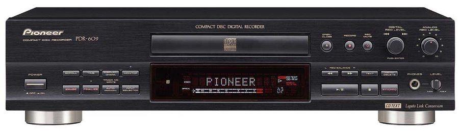 pioneer pdr 609 graveurs cd son vid. Black Bedroom Furniture Sets. Home Design Ideas