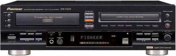pioneer pdr w839 graveurs cd son vid. Black Bedroom Furniture Sets. Home Design Ideas