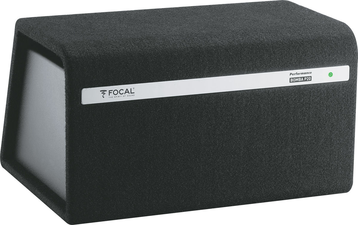focal bomba bp20 subwoofers voiture son vid. Black Bedroom Furniture Sets. Home Design Ideas