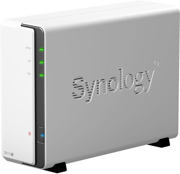 Synology DS112j Vue principale