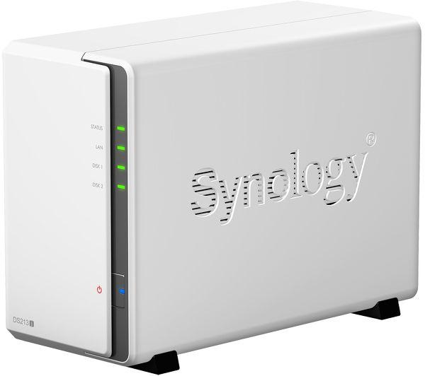 Synology DS213j Vue principale