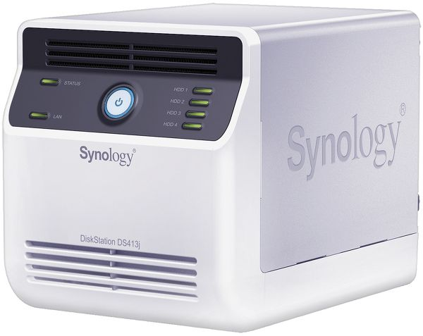 Synology DS413j Vue principale