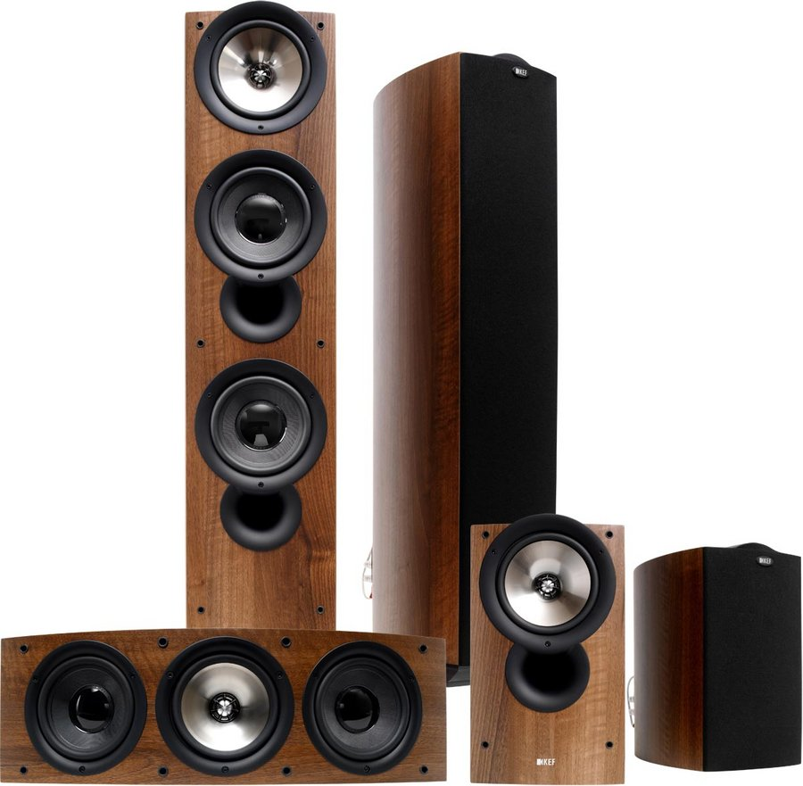 KEF iQ90 Cinema Packs d'enceintes grand...