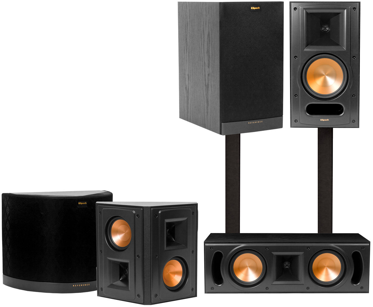 klipsch rb 61 mkii system packs d 39 enceintes son vid. Black Bedroom Furniture Sets. Home Design Ideas