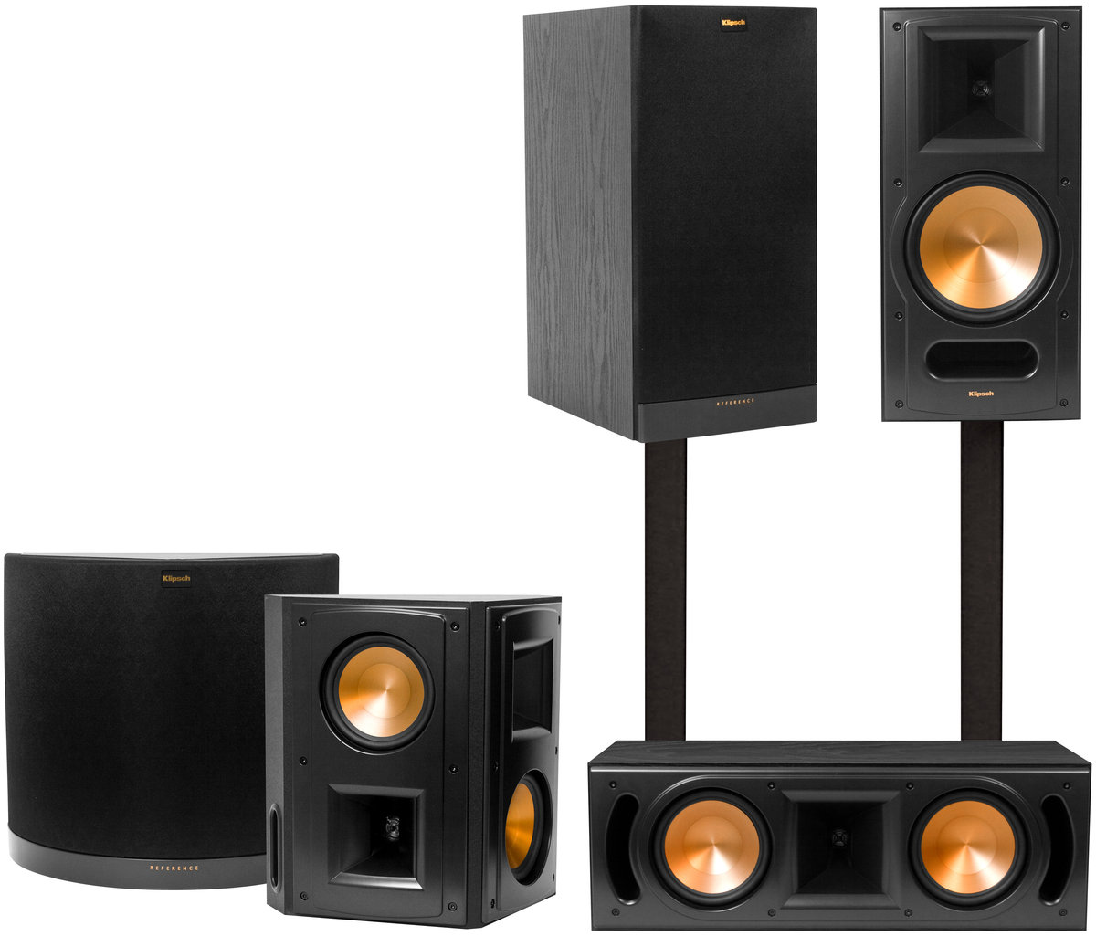 klipsch rb 81 mkii system packs d 39 enceintes son vid. Black Bedroom Furniture Sets. Home Design Ideas