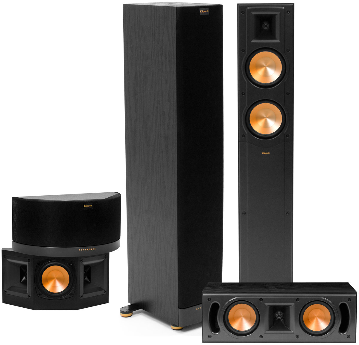 klipsch rf 42 mkii system packs d 39 enceintes son vid. Black Bedroom Furniture Sets. Home Design Ideas