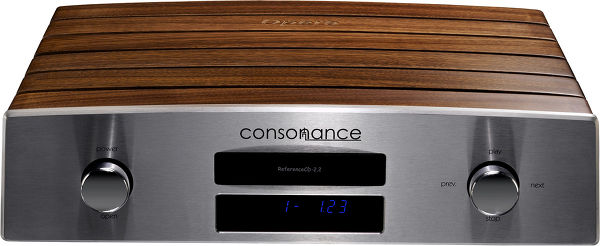 Consonance Reference CD 2.2 Linear MKII Vue principale