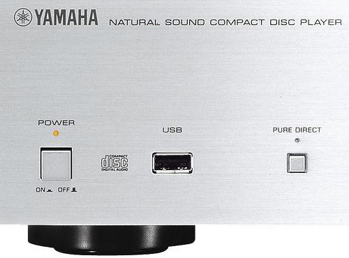 Yamaha CD-S700, vue de détail de la prise USB en façade