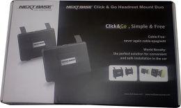 Next Base Headrest Mount Duo Vue Packaging