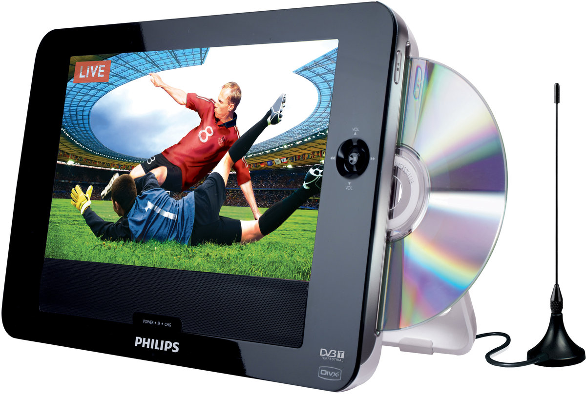 philips pd8015 lecteurs dvd portables son vid. Black Bedroom Furniture Sets. Home Design Ideas
