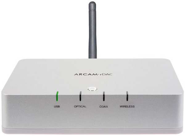 Arcam rDac Wireless Vue principale