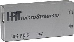 HRT MicroStreamer Vue principale