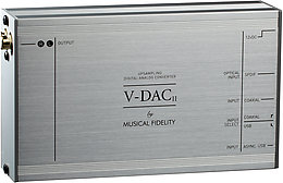 Musical Fidelity V-DAC 2 Vue principale
