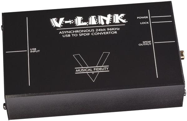 Musical Fidelity V-LINK Vue principale