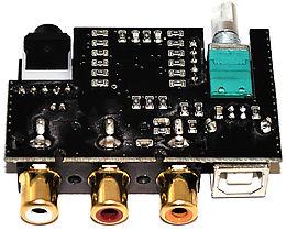 NuForce µDAC-2 Gold Vue intérieure