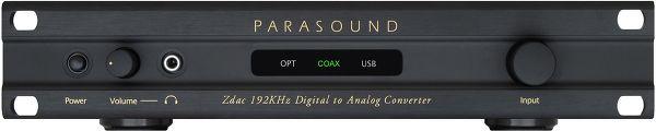 Parasound Z-Dac v2 Vue principale