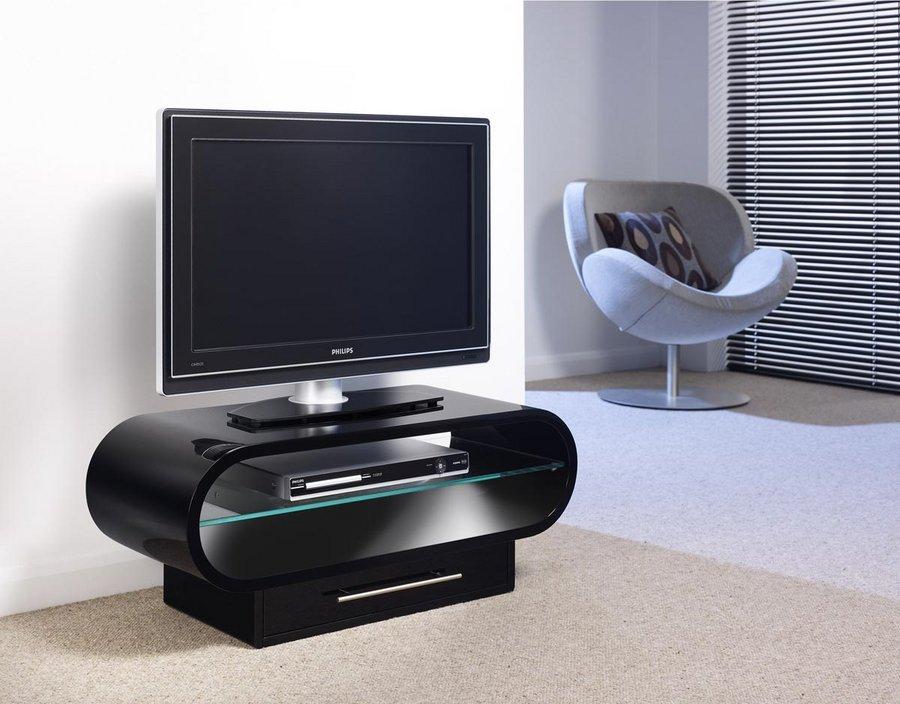 tech link ovid plus meubles tv-vidéo - son-vidéo.com - Meuble Tv Design Arrondi