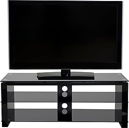 ateca cristal meubles tv vid o son vid. Black Bedroom Furniture Sets. Home Design Ideas