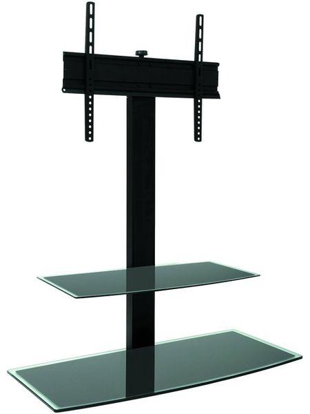 Erard studio 1000 meubles avec support son vid - Meuble tv avec support pivotant ...