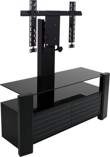 Erard archi ferm colonne meubles avec son vid - Meuble tv ferme avec portes encastrables ...