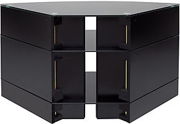 Meuble Tv D Angle Norstone Corner Noir Pictures to pin on ...