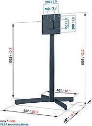 Vogel's EFF-8230 Vue de détail 1