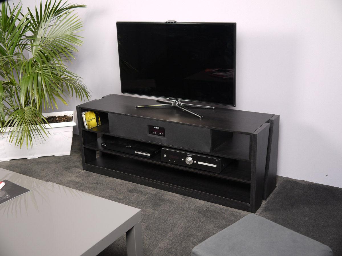 Meuble Tv Enceinte Integre Dudew Com # Meuble Tv Audio Integre