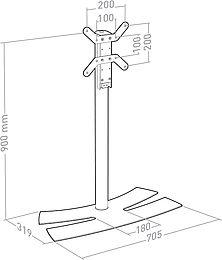 Erard Lux-Up 900M Vue de détail 1