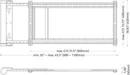 Lava LRM-901-L Vue schéma dimensions