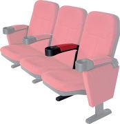 Lumene Accoudoir central pour fauteuil Hollywood Comfort
