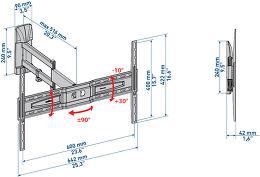 Meliconi 600 SDR Vue schéma dimensions